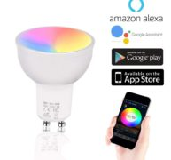 Ampoule Connectée GU10 Google Home Amazon Alexa