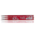 Pilot 3x Recharge Frixion Rouge